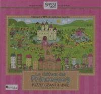 Jillian Phillips - Le château des princesses - Puzzle géant & livre.
