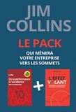 Jim Collins - Pack en 2 volumes : De la performance à l'excellence ; L'effet volant.