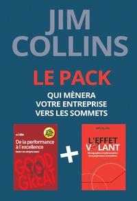 Jim Collins - Pack en 2 volumes : De la performance à l'excellence ; L'effet volant.