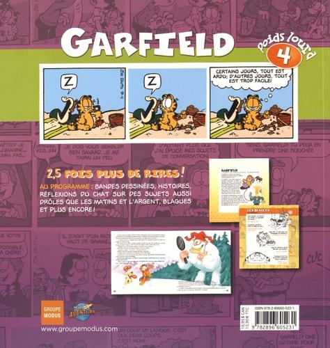 Garfield, poids lourd Tome 4