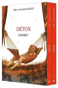 Jim et Antonin Gallo - Détox  : Coffret en 2 volumes - Tome 1, Le déni ; Tome 2, L'acceptation.