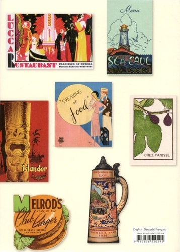 Menu Design in America. A Visual and Culinary History of Graphic Styles and Design 1850-1985