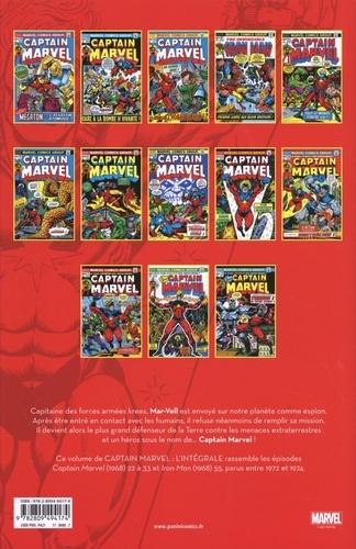 Captain Marvel L'intégrale 1972-1974