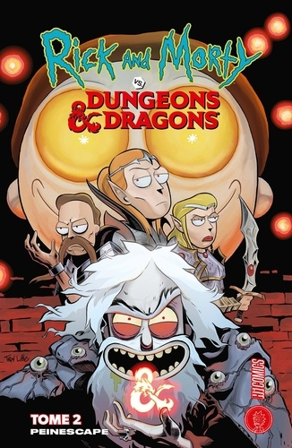 Rick & Morty vs. Dungeons & Dragons Tome 2 - Peinescape - 9782378871376 - 9,99 €