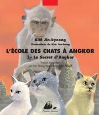 Jin-kyeong Kim et Jae-hong Kim - L'Ecole des Chats à Angkor Tome 1 : Le secret d'Angkor.