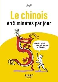 Jing Li - Le chinois en 5 minutes par jour.