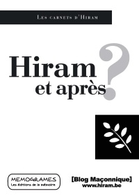 Jiri Pragman - Hiram et après ?.