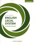 Jo Ann Boylan-Kemp - English Legal System.