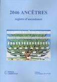 Jo Boutet - 2046 ancêtres - Registre d'ascendance.