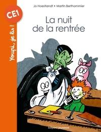 Jo Hoestlandt et Martin Berthommier - La nuit de la rentrée.