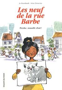 Jo Hoestlandt et Dominique Hoestlandt - Les copains de la rue Barbe Tome 1 : Perdu : maudit chat !.