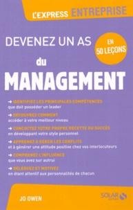 Jo Owen - Devenez un as du management en 50 leçons.