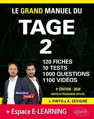 Joachim Pinto et Arnaud Sévigné - Le Grand Manuel du TAGE 2.