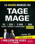 Joachim Pinto et Arnaud Sévigné - Le Grand Manuel du Tage Mage - 220 fiches de cours, 15 tests blancs, 2000 questions + corrigés en vidéo.