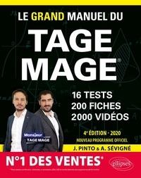 Joachim Pinto et Arnaud Sévigné - Le Grand Manuel du Tage Mage.