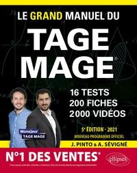 Joachim Pinto et Arnaud Sévigné - Le Grand Manuel du Tage Mage - 16 tests, 200 fiches, 2000 vidéos de cours.