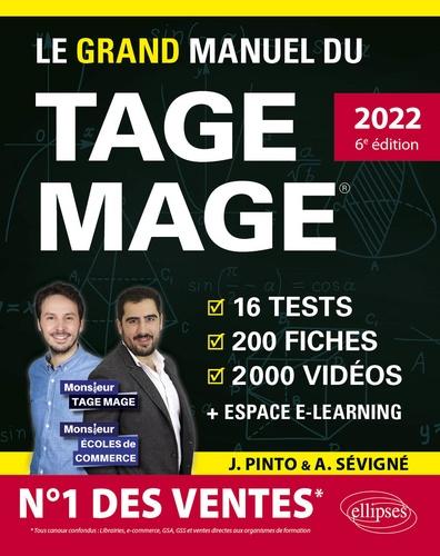 Le grand manuel du TAGE MAGE. N°1 DES VENTES – 16 tests blancs + 200 fiches de cours + 2000 vidéos  Edition 2022