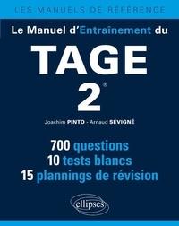 Joachim Pinto et Arnaud Sévigné - Le manuel d'entraînement du Tage 2.