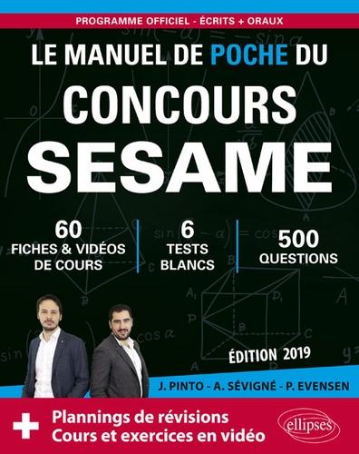 Joachim Pinto et Arnaud Sévigné - Le manuel de poche du concours SESAME.