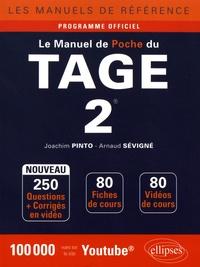 Joachim Pinto et Arnaud Sévigné - Le manuel de poche du TAGE 2.