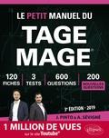 Joachim Pinto et Arnaud Sévigné - Le petit manuel du TAGE MAGE - 120 fiches, 3 tests, 600 questions plus corrigés en vidéo.