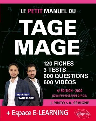 Joachim Pinto et Arnaud Sévigné - Le Petit Manuel du TAGE MAGE.