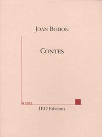 Joan Bodon - Contes.