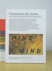 Joan Elies Adell et Fernando Aguiar - L'inventaire des choses - Une anthologie internationale de poésie contemporaine.