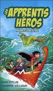 Joan Holub et Suzanne Williams - Les apprentis héros - T2 : Poséidon et la mer en furie.