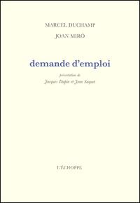 Joan Miro et Marcel Duchamp - .