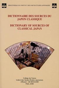 Ucareoutplacement.be Dictionnaire des sources du Japon classique - Edition bilingue français-anglais Image
