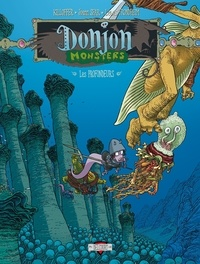 Joann Sfar et Lewis Trondheim - Donjon Monsters Tome 9 : Les Profondeurs.
