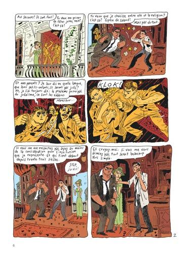 Le Chat du Rabbin Tome 8 Petit panier aux amandes