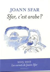 Sfar, c'est arabe ? - Joann Sfar |