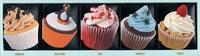 Joanna Farrow - Coffret cupcakes - 60 recettes gourmandes, 5 livres thématiques.