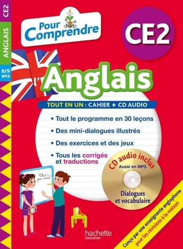 Pour comprendre l'anglais CE2  Edition 2018 -  avec 1 CD audio