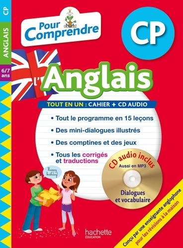Joanna Le May - Pour comprendre l'anglais CP - 6/7 ans. 1 CD audio