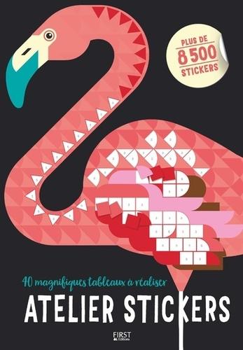 Joanna Webster - Atelier stickers - 40 magnifiques tableaux à réaliser, plus de 8500 stickers.