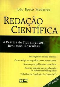 João Bosco Medeiros - Redação Cientifica.
