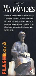 Joaquin Lledo - Maimonides.