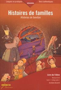 Accentsonline.fr Histoires de familles - Livre du professeur + livre de l'élève Image