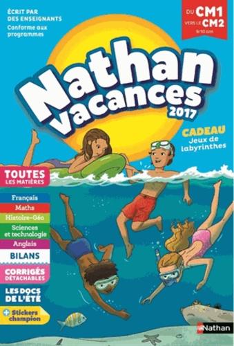 Nathan Vacances Du Cm1 Vers Le Cm2 9 10 Ans Grand Format