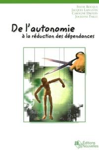 Deedr.fr DE L'AUTONOMIE A LA REDUCTION DES DEPENDANCES Image