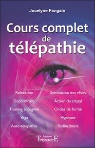 Jocelyne Fangain - Cours complet de télépathie.