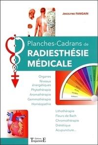 Jocelyne Fangain - Planches-cadrans de radiesthésie médicale.