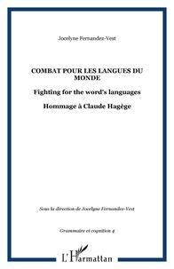 Jocelyne Fernandez-Vest - Combat pour les langues du monde - Hommage à Claude Hagège.