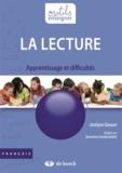 Jocelyne Giasson - La lecture - Apprentissage et difficultés.
