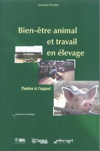 Jocelyne Porcher - Bien-être animal et travail en élevage - Textes à l'appui.