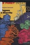 Jocelyne Sauvard - Vagues à Biarritz.