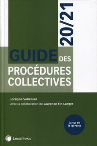 Jocelyne Vallansan - Guide des procédures collectives.